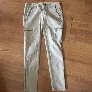 Michael Kors khaki pants skinny size 2